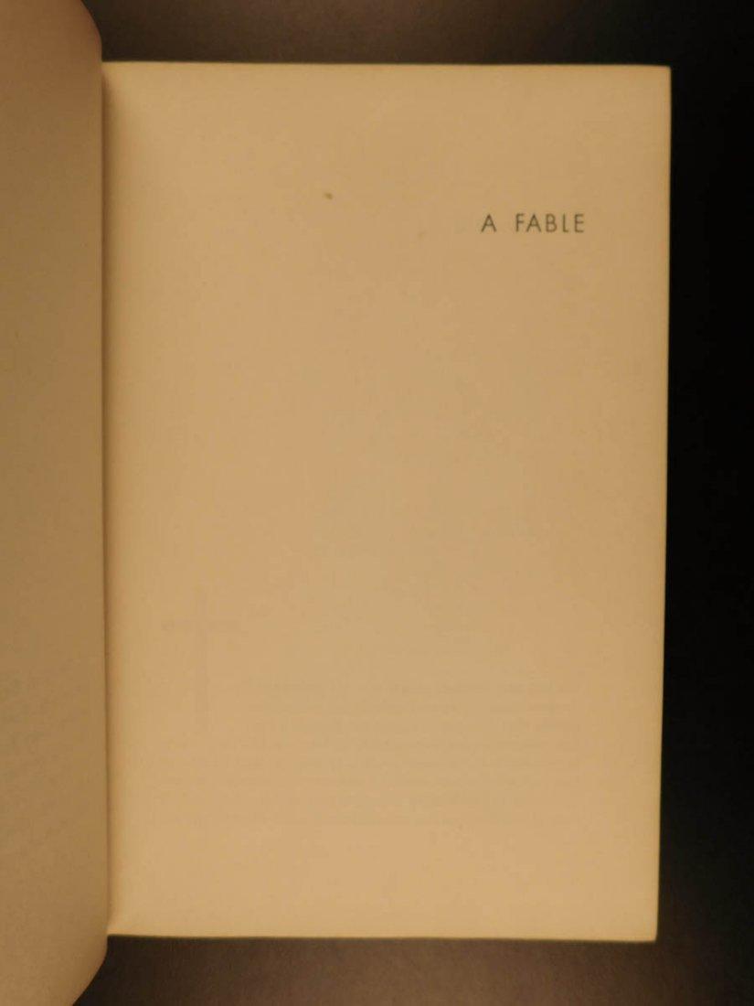 1954 1st/1st William Faulkner Novel A Fable World War I - 10