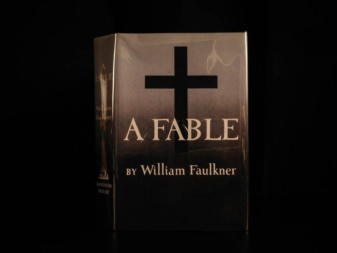 1954 1st/1st William Faulkner Novel A Fable World War I