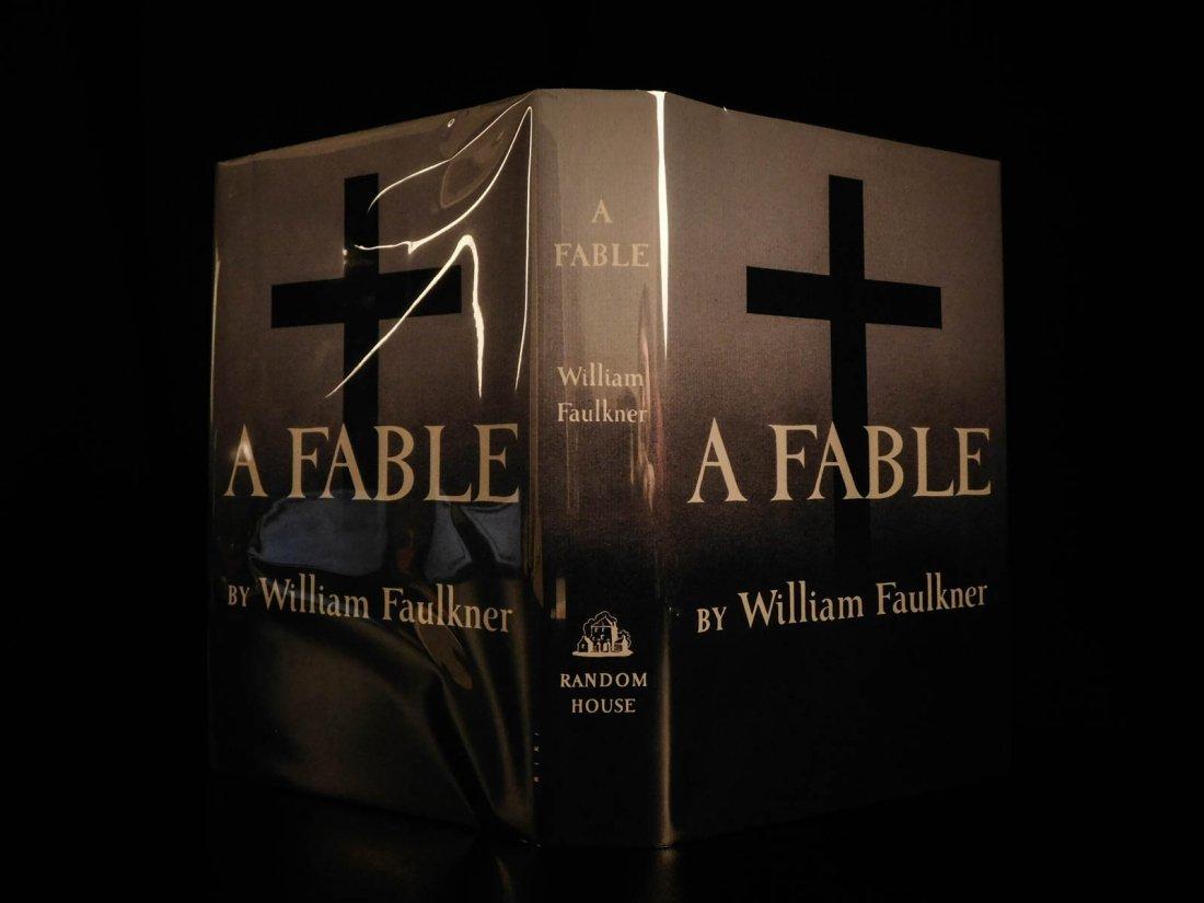 1954 1st/1st William Faulkner Novel A Fable World War I - 2