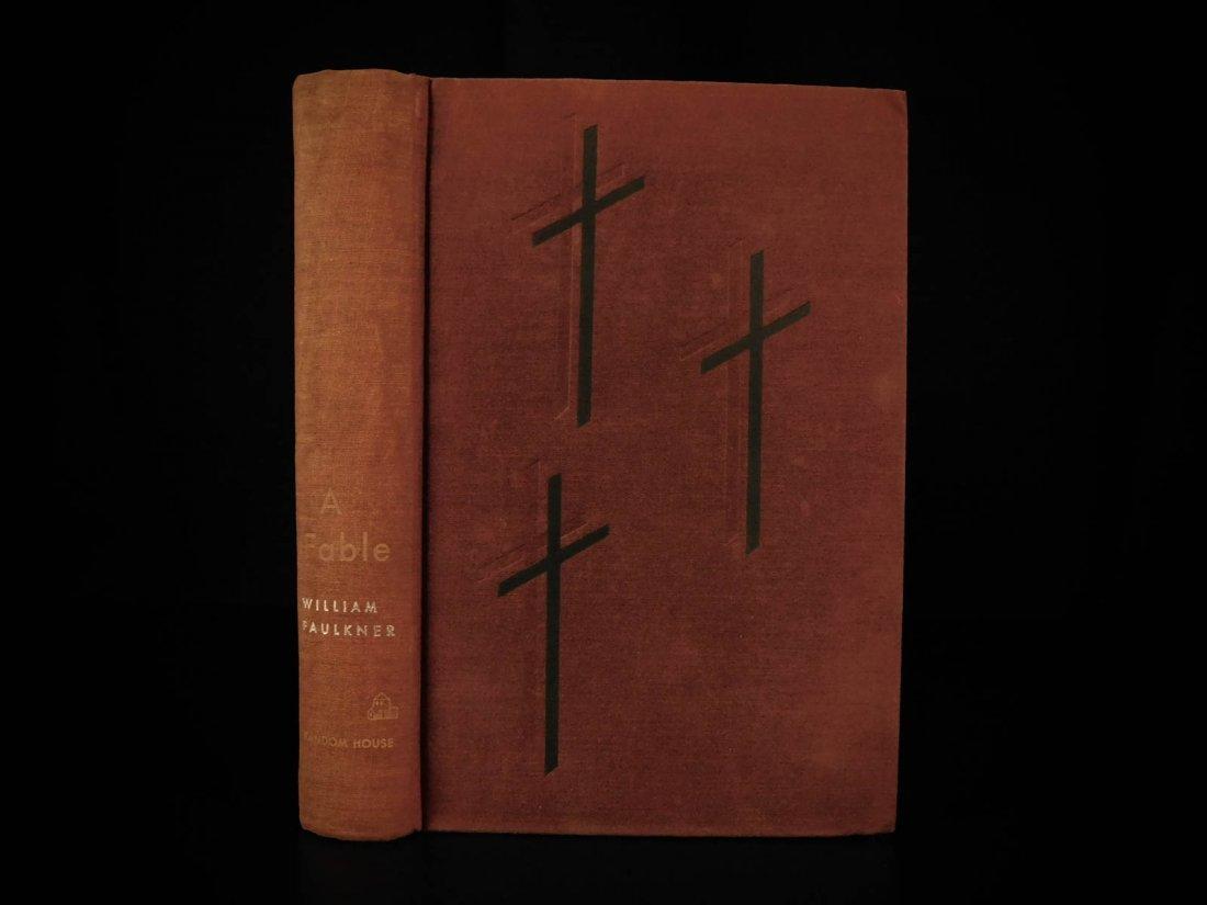1954 1st/1st William Faulkner Novel A Fable World War I - 3