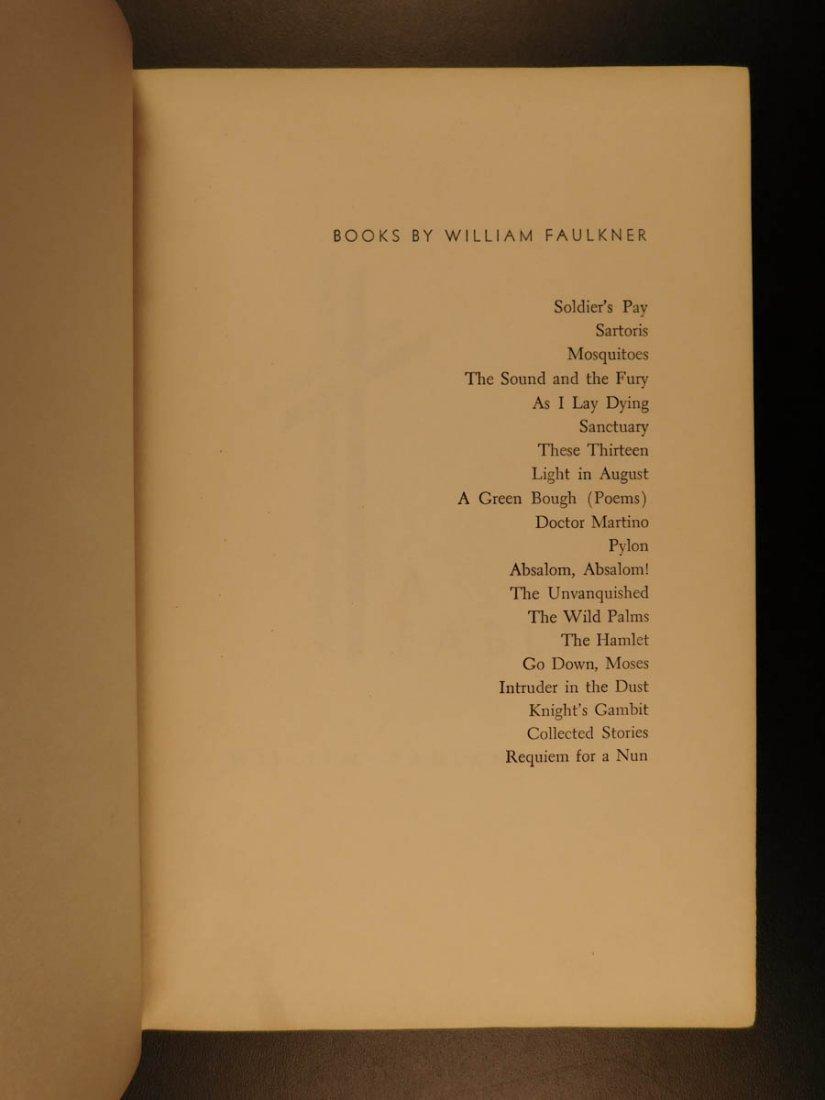 1954 1st/1st William Faulkner Novel A Fable World War I - 6