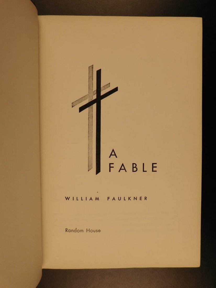 1954 1st/1st William Faulkner Novel A Fable World War I - 7