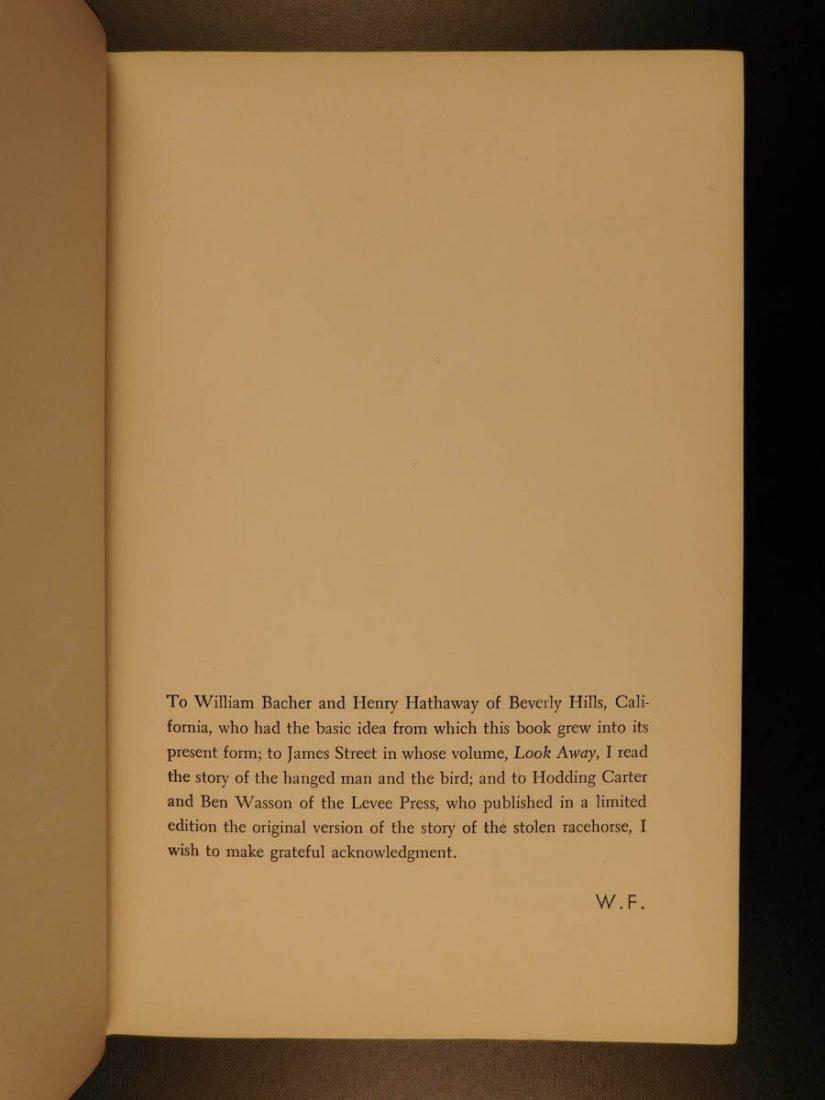 1954 1st/1st William Faulkner Novel A Fable World War I - 9