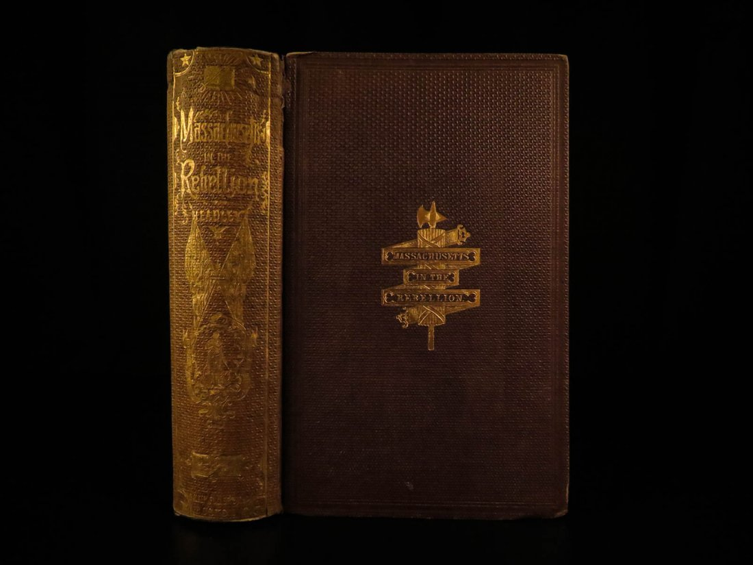 1866 1st ed Civil War Battles Massachusetts