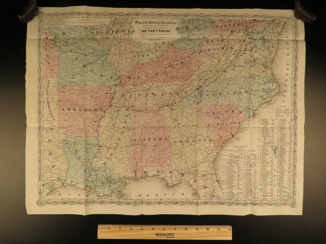 1867 Confederate Lost Cause CIVIL WAR Slavery CSA