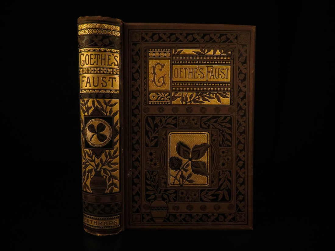 1883 FAMOUS Faust by Johann Goethe Tragedy Esoteric