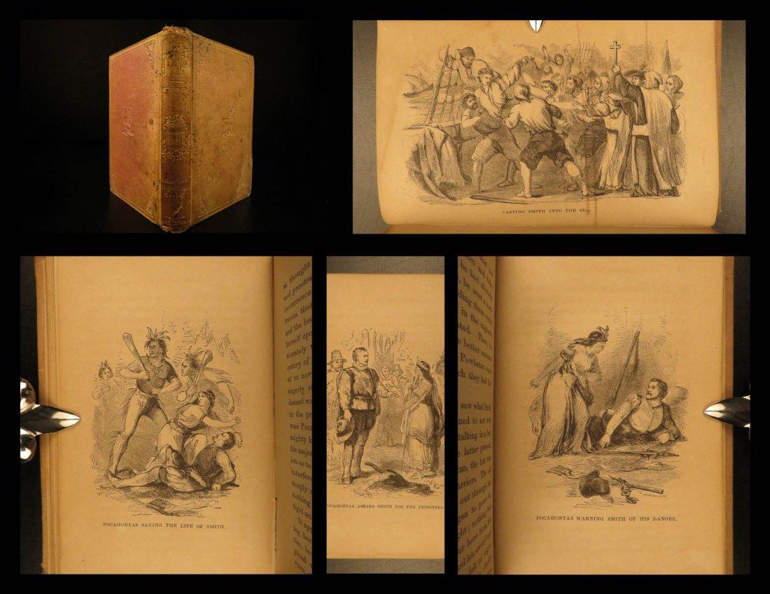 1868 Captain John Smith Biography EARLY POCAHONTAS