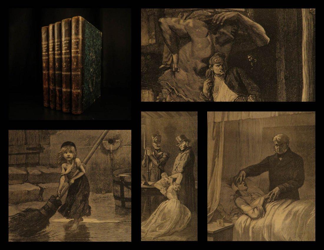 1880 Les Misérables Victor HUGO French Literature