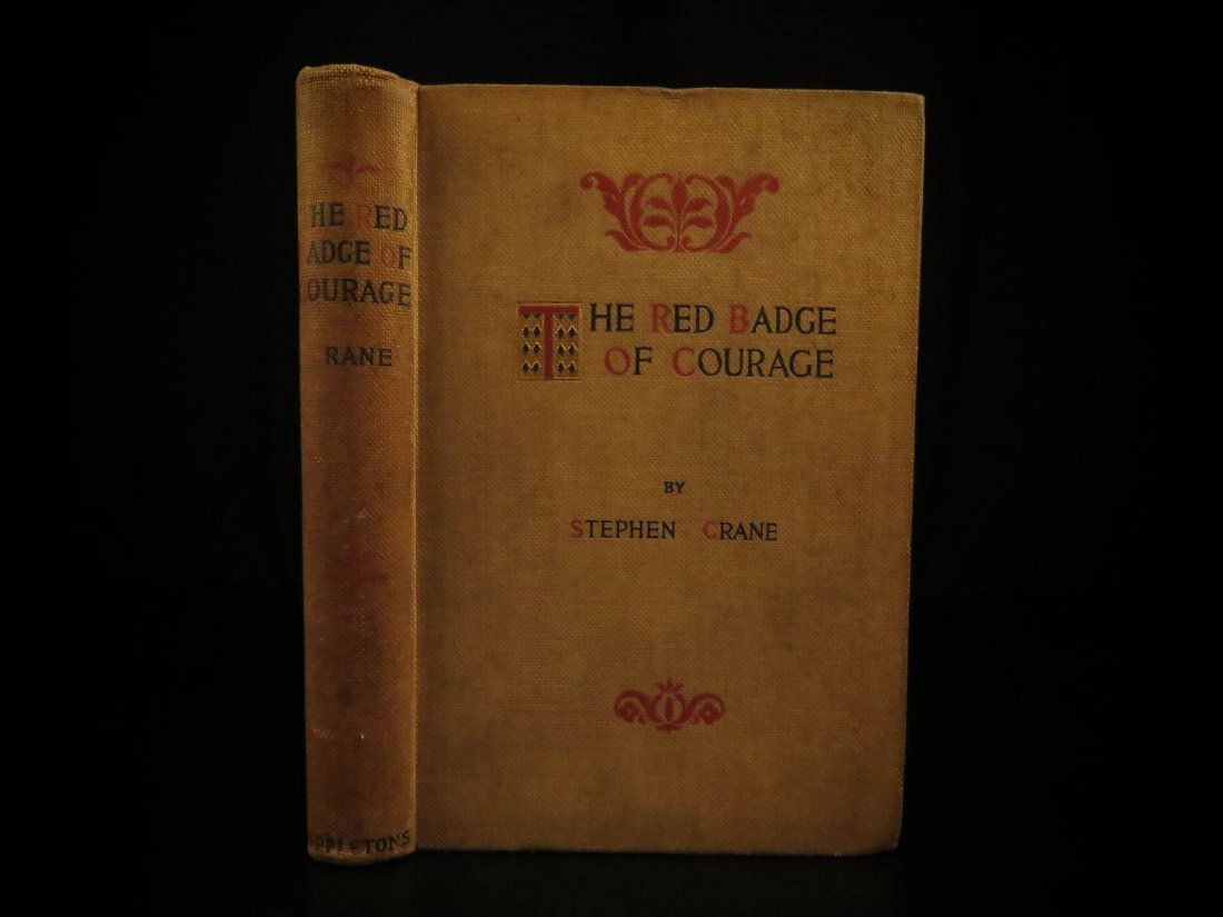 1896 1st ed Red Badge of Courage by Stephen Crane