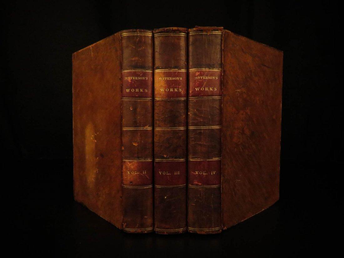 1830 Thomas Jefferson Memoirs Americana US Politics