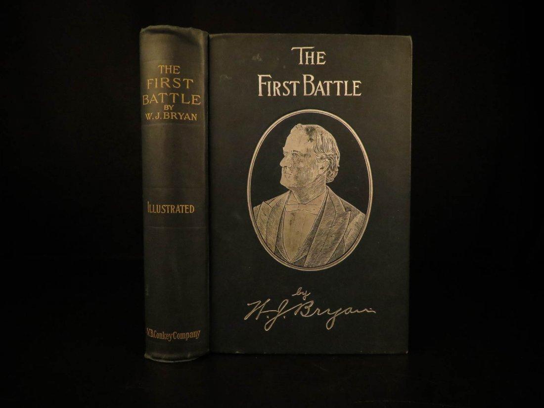 1896 First Battle W.J. Bryan American Campaign