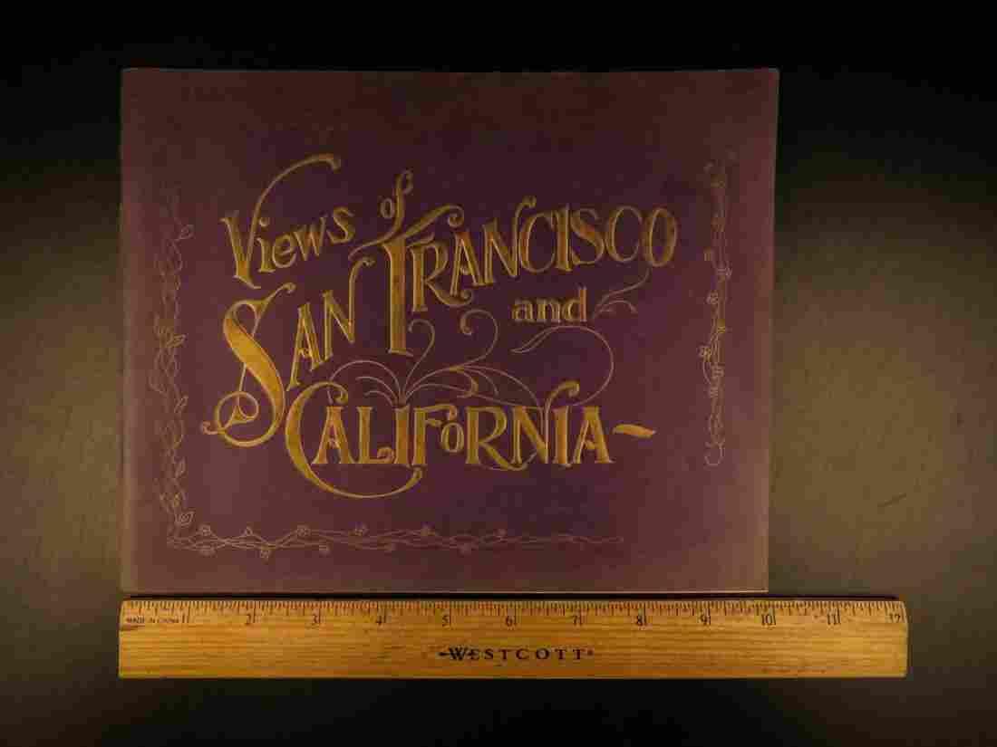 1905 1st ed San Francisco RARE Views of California