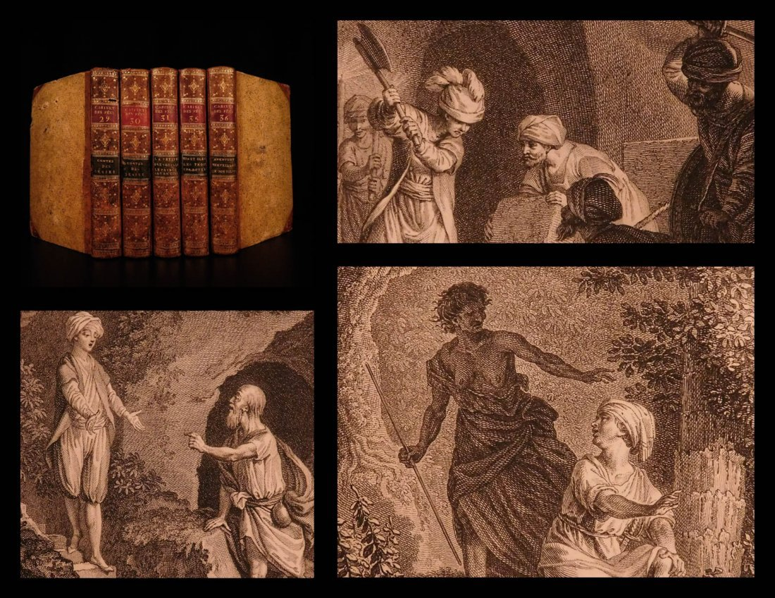 1786 1ed FAIRY TALES French Literature Ridley Contes