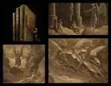 1880 Gustave Doré Illustrated Milton Paradise