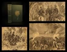 1866 1st ed Illustrated CIVIL WAR Portraits Abe Lincoln