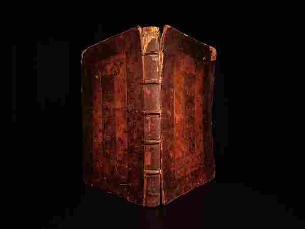 1696 1st ed English Bible Catechism Thomas Bray Church