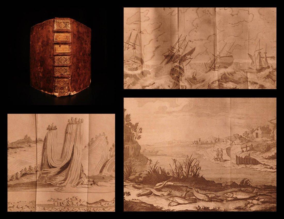 1742 Navigation Naval Ships Fossils Fishing Zoology