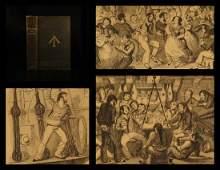 1841 1st ed Naval & National Songs Charles Dibdin
