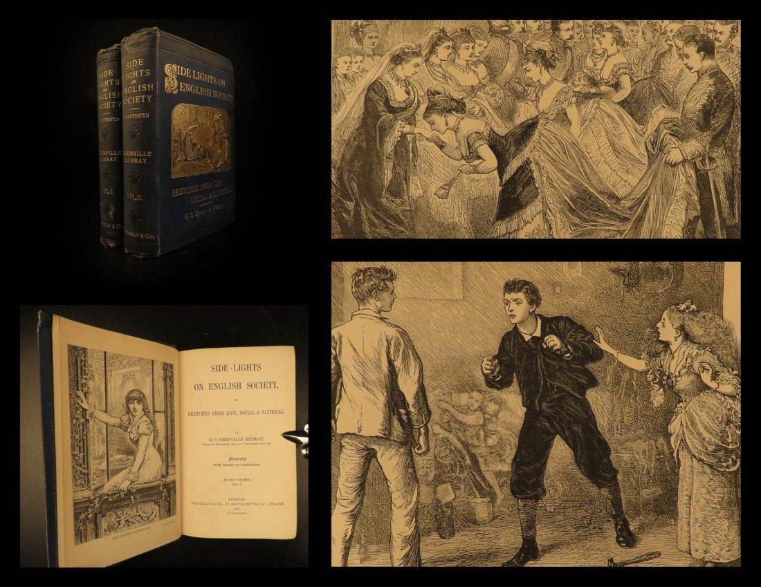 1881 English Society SATIRE Side-Lights Eustace