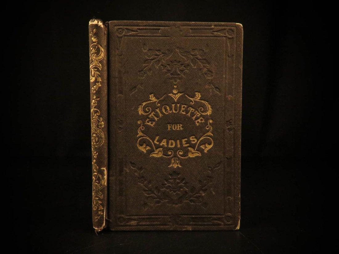 1843 Etiquette for Ladies American Social Life Women