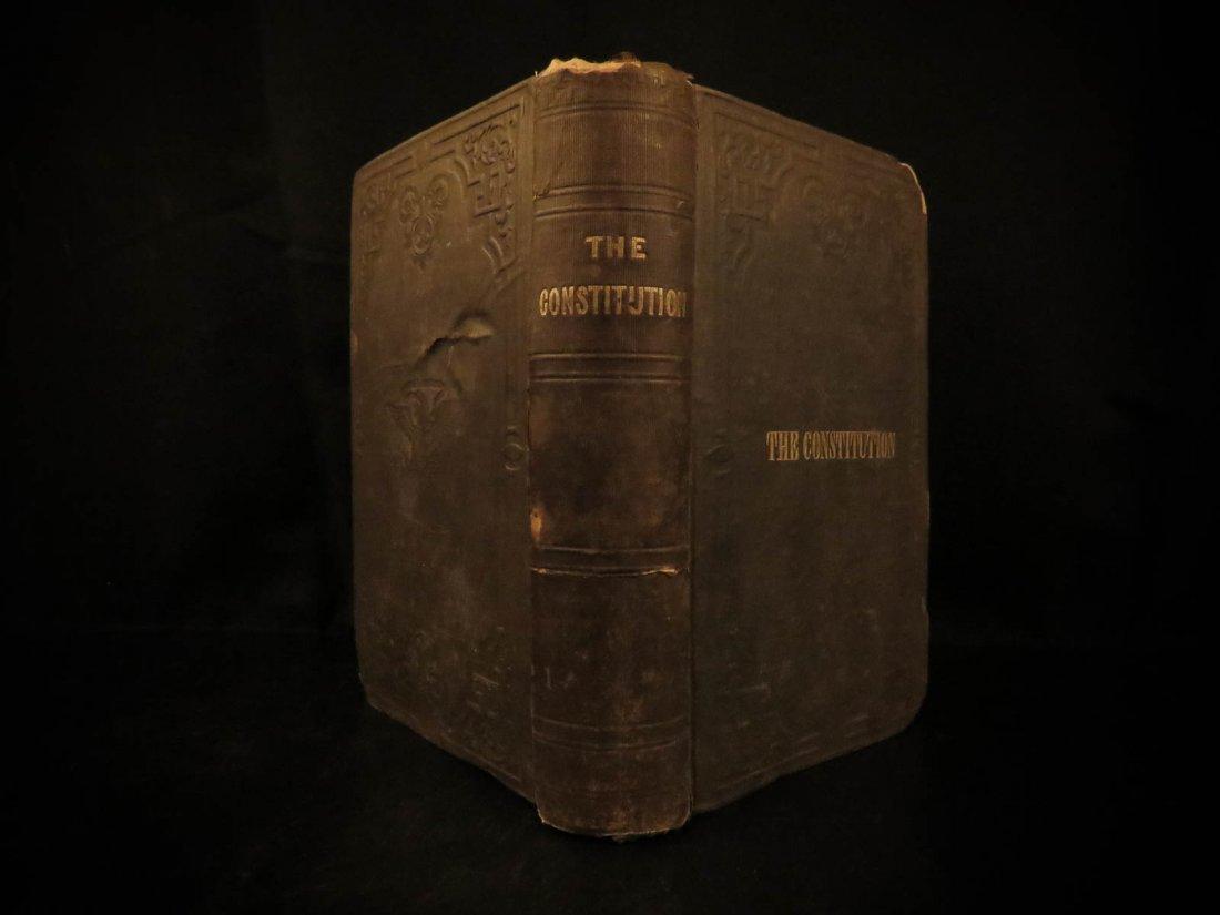 1854 United States Constitution & Declaration