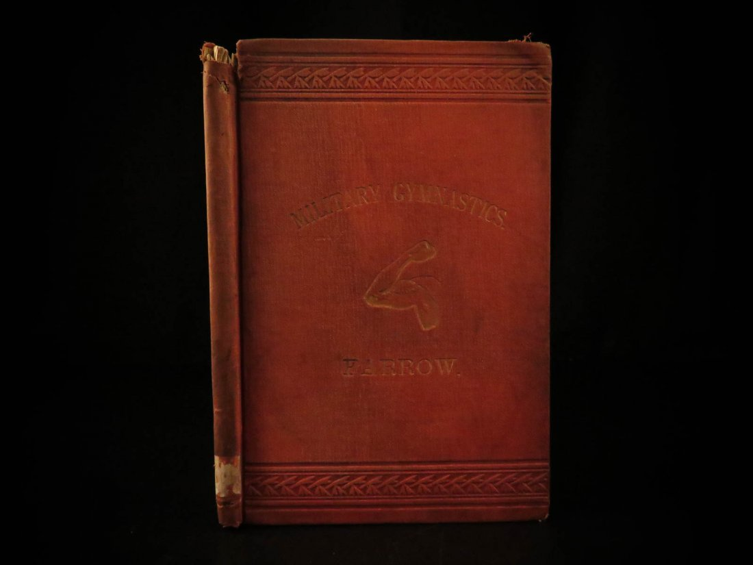 1881 1ed West Point Military System of Gymnastic