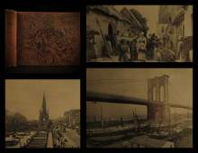 1891 Photographs of World New York America ASIA Ruins