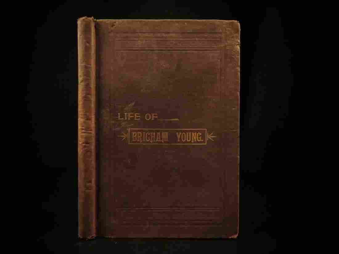 1893 Life of Brigham Young Mormon Church LDS