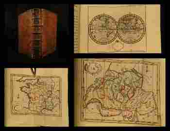 1774 ATLAS Bruyset 23 Color Maps AMERICA Scandinavia