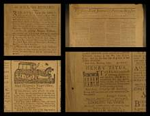 1792 EARLY American Newspaper New York Journal Politics