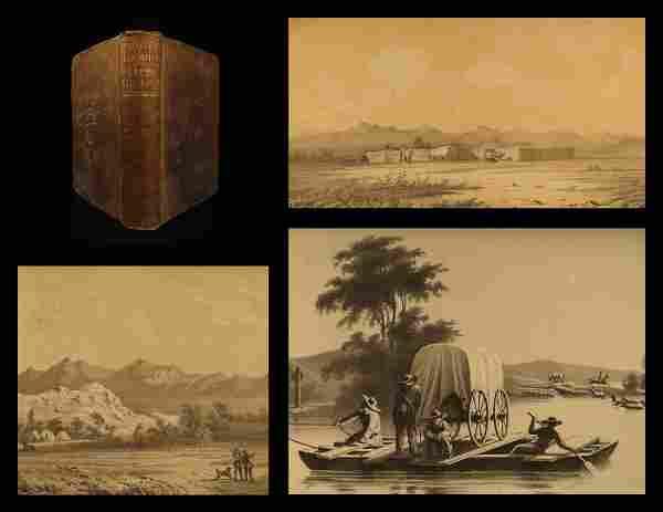 1852 1ed Great Salt Lake Utah Stansbury Exploration Mor