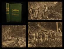 1874 1ed Jules Verne Meridiana Africa Adventure Voyage