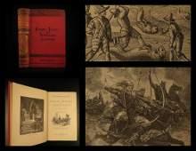 1887 Jules Verne Famous Travels & Travelers Voyage