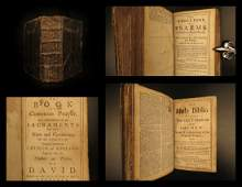 1728 Baskett BIBLE & Book of Common Prayer English