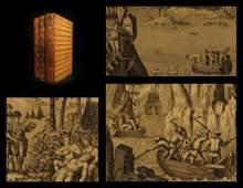 1794 Voyages of Captain James Cook Australia