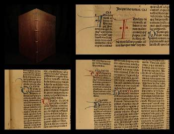 1489 St Augustine City of God Incunabula Philosophy