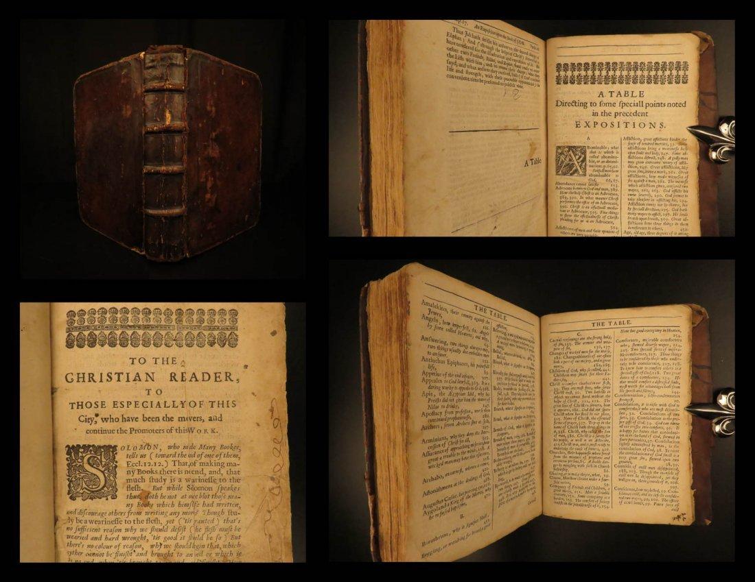 1651 1st ed Bible Book of JOB Old Testament English