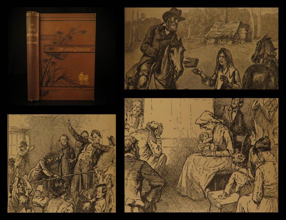 1881 1st ed Southwest Wild West Pierson American Life