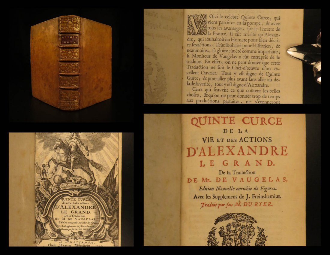 1700 Alexander the Great Quintus Curtius Rufus Greece