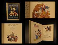 1939 1st ed Donald Duck & MICKEY MOUSE Walt DISNEY