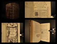 1670 Holy BIBLE Biblia Sacra Vulgate New Testament