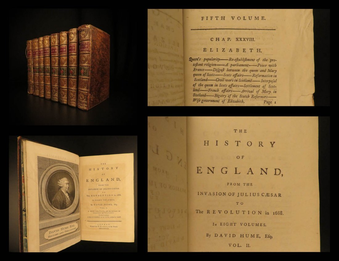 1778 David Hume History of England Scottish