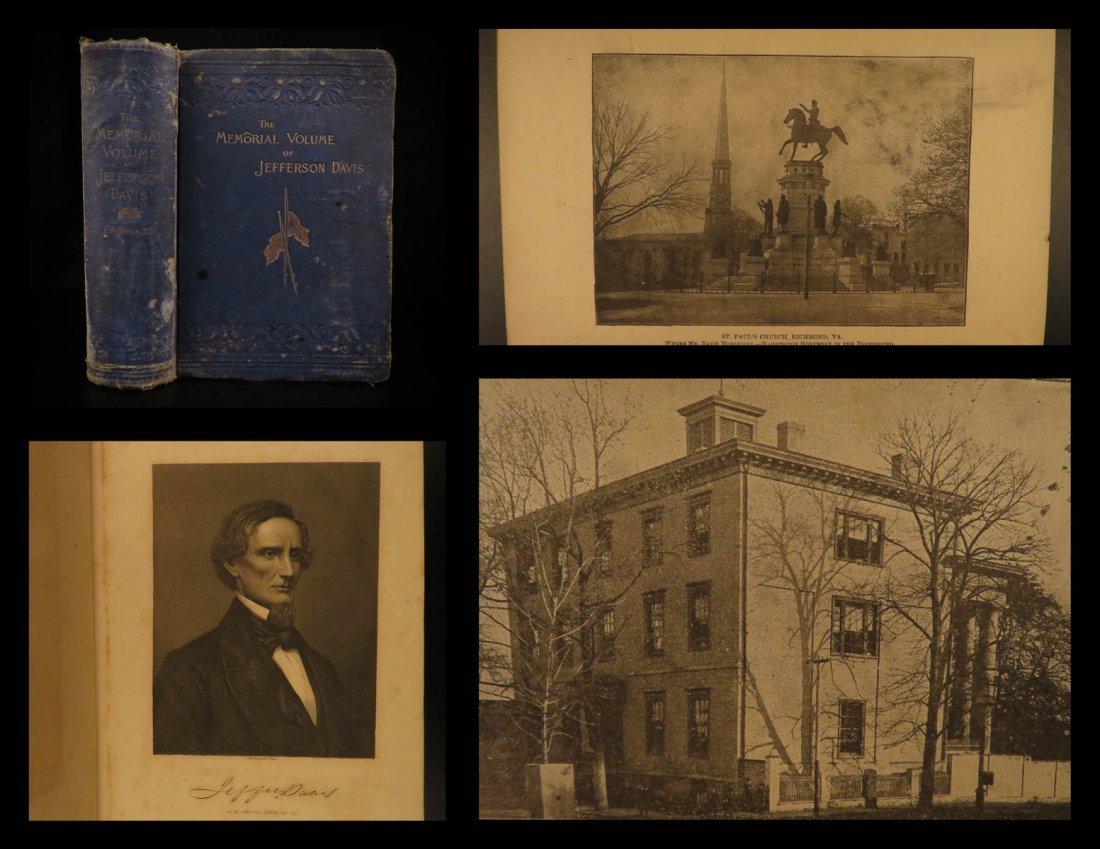 1890 Jefferson Davis Memorial Jones America President