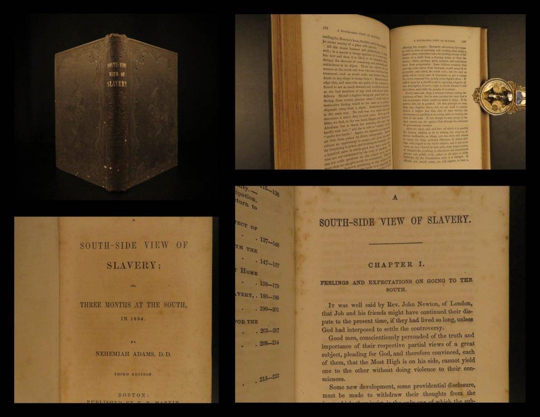 1855 Slavery South-Side View Racism Slave Emancipation