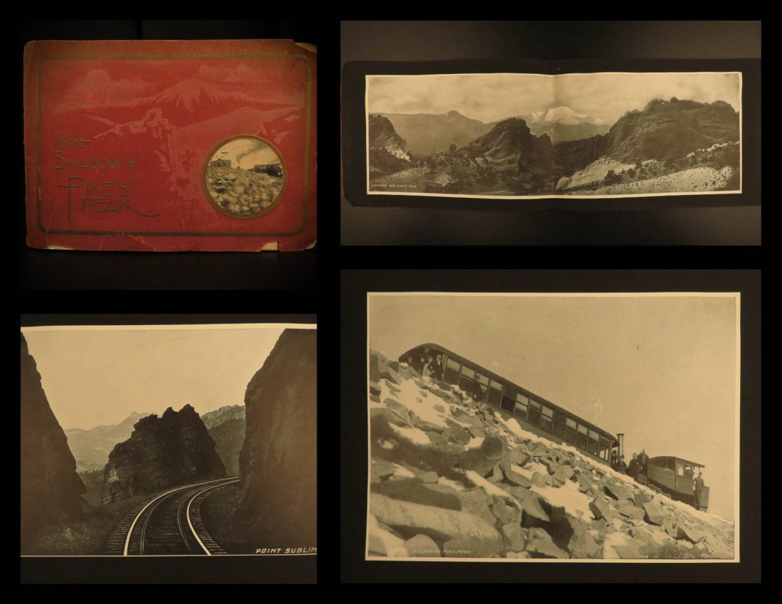 1900 COLORADO Photography In the Shadow of Pikes Peak