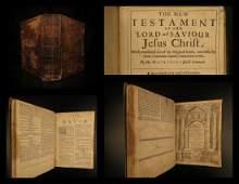 1675 Cambridge Holy BIBLE King James KJV English