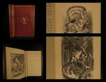 1872 1ed Through the Looking Glass Carrol Tenniel Alice