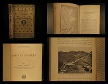 1901 1ed Bible Archaeology Ancient Egypt CHINA Hebrews