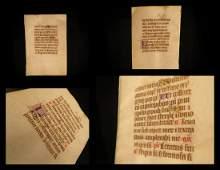 1400s BIBLE Medieval Manuscript Nigra Sum Song Songs