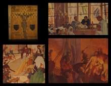 1930 Joan of Arc Brentano France Hundred Years War HUGE